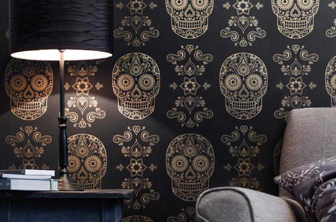 NextCrave - Sugar Skull Wallpaper