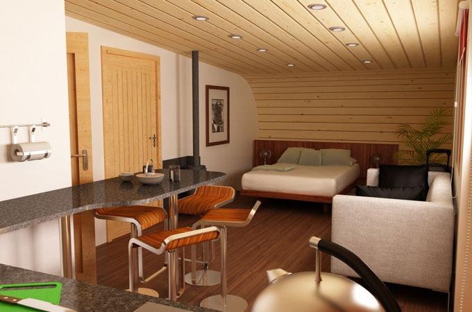 Nextcrave eco perch treehouse - Decoration maison petite surface ...